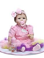 economico -NPKCOLLECTION Bambole Reborn Bambine 24 pollice realistico, Occhi azzurri di impianto artificiale Per bambino Da ragazza Regalo