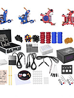 cheap -Tattoo Machine Professional Tattoo Kit - 4 pcs Tattoo Machines, High Speed / Variable Speeds / Professional Level Alloy # Case Not Included 4 alloy machine liner & shader