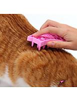 baratos -Cachorros / Gatos Escovas / Limpeza Escovas / Banhos Portátil / Lavável Cor Aleatória