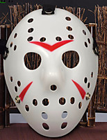 cheap -Halloween Mask / Halloween Prop / Halloween Accessory for Killing Time / Stress and Anxiety Relief / Sports & Outdoors Sports / Horror Plastic & Metal Sports & Outdoors / Face 1 pcs Pieces All Adults