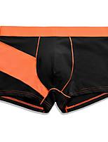 abordables -Hombre Boxer Bloques Alta cintura