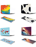 abordables -MacBook Etuis Peinture à l'Huile Plastique pour MacBook 12''