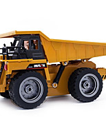 cheap -RC Car 540 6CH 2.4G Construction Truck 1:64 10 km/h KM/H
