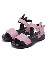 Недорогие -Девочки Обувь Микроволокно Лето Удобная обувь / Детская праздничная обувь Сандалии для Белый / Красный / Розовый