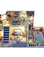 Недорогие -Кукольный домик моделирование / утонченный Вилла 1 pcs Куски Детские Подарок