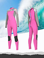 cheap -Women's Full Wetsuit 2mm SCR Neoprene Diving Suit High Elasticity Long Sleeve