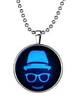 Недорогие -Муж. Длиные Ожерелья с подвесками - Мода, Хип-хоп Синий 60 cm Ожерелье 1шт Назначение Halloween, Для клуба