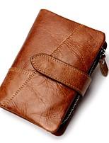 cheap -Unisex Bags Nappa Leather Wallet Pattern / Print Black / Coffee / Brown