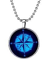 preiswerte -Herrn Lang Anhängerketten - Retro, Ethnisch, Modisch Blau 60 cm Modische Halsketten 1pc Für Halloween, Klub