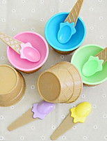 Недорогие -1 ед. ПП (полипропилен) обожаемый / Cool Глубокие тарелки, посуда