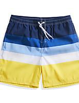 baratos -Homens Calção de Banho / Shorts de Natação Ultra Leve (UL), Secagem Rápida, Respirável POLY Roupa de Banho Roupa de Praia Bermuda de Surf / Calças Surfe / Praia / Esportes Aquáticos