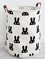 cheap -Fabrics Round New Design / Geometric Pattern Home Organization, 1pc Storage Bags