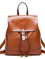 cheap -Women's Bags PU(Polyurethane) Backpack Zipper Coffee / Wine / Royal Blue
