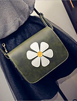 abordables -Mujer Bolsos Poliéster Bolsa de hombro Diseño / Estampado Gris Oscuro / Marrón / Marrón Oscuro