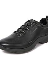 cheap -Men's Cowhide Spring Comfort Sneakers White / Black / Coffee