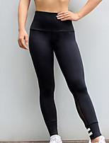 preiswerte -Damen Alltag Grundlegend Legging - Gestreift Hohe Taillenlinie