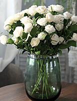 cheap -Artificial Flowers 1 Branch Classic European / Modern Camellia Tabletop Flower