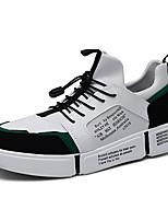 cheap -Men's Mesh / PU(Polyurethane) Fall & Winter Comfort Sneakers White / Black / Red