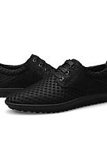 Недорогие -Муж. Сетка Лето Удобная обувь Кеды Черный / Коричневый