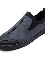 abordables -Homme Chaussures Daim Automne Moccasin Mocassins et Chaussons+D6148 Noir / Gris