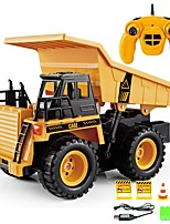 cheap -RC Car 6CH 2.4G Construction Truck 1:20 Brush Electric KM/H