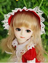 Недорогие -OuenElfs Кукла с шаром / Блайт Кукла Девочки 10 дюймовый Полный силикон для тела - Высокотемпературные резистивные парики Детские Девочки Подарок