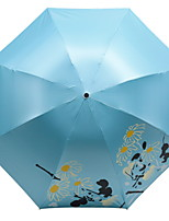 cheap -Polyester / Stainless steel All New Design / Sunny and Rainy Folding Umbrella