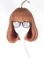 cheap -Cosplay Wigs Beyond the Boundary Cosplay Anime Cosplay Wigs 76.2 cm CM Heat Resistant Fiber All