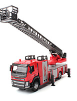 cheap -Toy Car Fire Engine Vehicle Vehicles City View Cool Exquisite Metal Teenager All Boys' Girls' Toy Gift 1 pcs