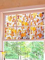 abordables -Film de fenêtre et autocollants Décoration simple Géométrique / 3D Print PVC Autocollant de Fenêtre / Salon / Salle de bain
