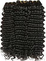 abordables -4 offres groupées Cheveux Indiens Bouclé Cheveux humains Casque / Tissages de cheveux humains / Extension 8-28 pouce Noir Couleur naturelle Tissages de cheveux humains Fabriqué à la machine Doux
