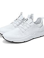 Недорогие -Муж. Сетка Лето Удобная обувь Кеды Белый / Черный / Красный