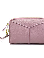 preiswerte -Damen Taschen Kunstleder Unterarmtasche Reißverschluss Marineblau / Purpur / Wein