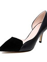 cheap -Women's Shoes Nappa Leather Spring / Fall Comfort / Basic Pump Heels Stiletto Heel Black / Dark Grey