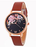 preiswerte -Damen Armbanduhr Chinesisch Armbanduhren für den Alltag / lieblich PU Band Modisch / Mehrfarbig Schwarz / Weiß / Blau