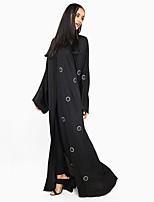 abordables -Abaya Femme - Couleur Pleine / Cercle Chic de Rue / Sophistiqué énorme