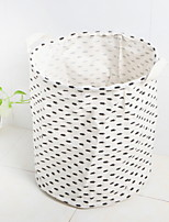 cheap -Fabrics Round Cool Home Organization, 1pc Storage Baskets