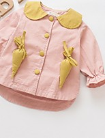 cheap -Toddler Girls' Solid Colored Long Sleeve Suit & Blazer
