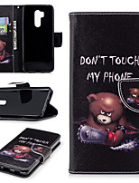 cheap -Case For LG G7 Wallet / Card Holder / with Stand Full Body Cases Cartoon Hard PU Leather for LG G7