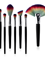 cheap -8pcs Makeup Brushes Professional Make Up Nylon fiber Comfy Wooden / Bamboo