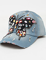 cheap -Unisex Basic / Holiday Baseball Cap - Patchwork Butterfly