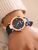 cheap -Women's Wrist Watch Chinese Casual Watch Leather Band Fashion Black / Blue / Green