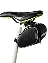 baratos -0.9 L Bolsa para Bagageiro de Bicicleta Á Prova-de-Chuva, Zíper á Prova-de-Água, Durável Bolsa de Bicicleta Pele / 600D de poliéster Bolsa de Bicicleta Bolsa de Ciclismo Moto