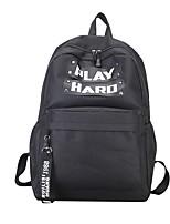 cheap -Women's Bags Canvas Backpack Rivet / Zipper Green / Black / Gray
