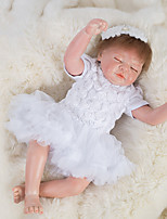 cheap -OtardDolls Reborn Doll Baby Girl 18 inch lifelike, Hand Applied Eyelashes, Tipped and Sealed Nails Kid's Girls' Gift / Natural Skin Tone / Floppy Head
