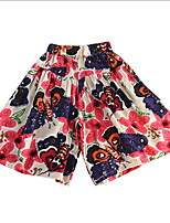 cheap -Kids Girls' Print / Patchwork Shorts