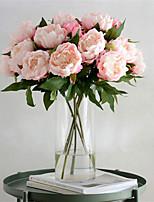 Недорогие -Искусственные Цветы 1 Филиал Классический Винтаж / европейский Пионы Букеты на стол