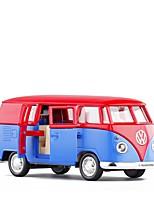 Недорогие -Игрушечные машинки Полицейская машинка / Автобус Транспорт Новый дизайн Металлический сплав Все Детские / Для подростков Подарок 1 pcs
