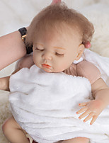 cheap -OtardDolls Reborn Doll Baby Boy 18 inch lifelike, Hand Applied Eyelashes, Tipped and Sealed Nails Kid's Boys' Gift / Natural Skin Tone / Floppy Head