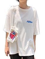 cheap -Women's Going out T-shirt - Letter